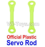Wltoys 12428-A RC Car Parts-Plastic Servo Rod(2pcs),Wltoys 12428-A Parts