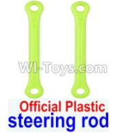 Wltoys 12428-A RC Car Parts-Plastic Steering Rod Parts(2pcs),Wltoys 12428-A Parts