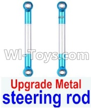 Wltoys 12428-A RC Car Upgrade Metal Steering Rod Parts(2pcs),Wltoys 12428-A Parts