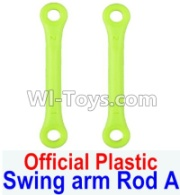 Wltoys 12428-A RC Car Parts-Plastic Swing arm Rod A(2pcs),Wltoys 12428-A Parts