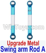 Wltoys 12428-A RC Car Upgrade Metal Swing arm Rod A(2pcs),Wltoys 12428-A Parts