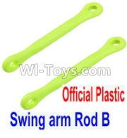 Wltoys 12428-A RC Car Parts-Plastic Swing arm Rod B(2pcs),Wltoys 12428-A Parts