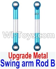 Wltoys 12428-A RC Car Upgrade Metal Swing arm Rod B(2pcs),Wltoys 12428-A Parts