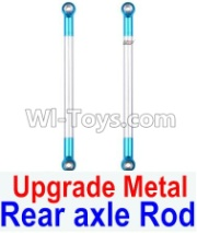 Wltoys 12428-A RC Car Upgrade Metal Rear axle Rod(2pcs),Wltoys 12428-A Parts
