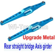 Wltoys 12428-A RC Car Upgrade Metal Rear straight bridge Axis girder for the Rear Swing Arm(2pcs),Wltoys 12428-A Parts