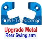 Wltoys 12428-A RC Car Upgrade Metal Positioning piece for the Left and Right Rear Swing arm(2pcs),Wltoys 12428-A Parts