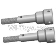 Wltoys 12428-A RC Car Parts-Wheel axle cup(2pcs-11X33MM),Wltoys 12428-A Parts