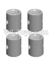 Wltoys 12428-A RC Car Parts-Universal shaft sleeve(4PCS-4.0X5MM),Wltoys 12428-A Parts