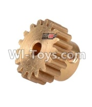 Wltoys 12428-A RC Car Parts-17T Motor Gear(15.2X10MM),Wltoys 12428-A Parts