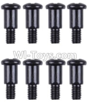 Wltoys 12428-A RC Car Parts-Cross step lower half tooth screw(8PCS)-M3X10,Wltoys 12428-A Parts
