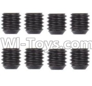 Wltoys 12428-A RC Car Parts-M3 Machine Screws(8PCS)-M3X3,Wltoys 12428-A Parts