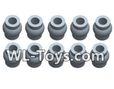 Wltoys 18428 RC Car Parts-0388 Black Ball-head unit(10pcs),Wltoys 18428 Parts