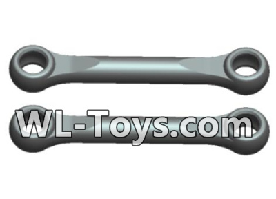 Wltoys 18428 RC Car Parts-Swing arm Rod Parts(2pcs)-Black-0391,Wltoys 18428 Parts
