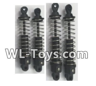 Wltoys 18428 RC Car Parts-Front and Rear Shock Absorber Parts(2pcs Short and 2pcs Long)-0400,Wltoys 18428 Parts