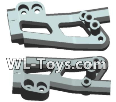 Wltoys 18428 RC Car Parts-Rearl shockproof board(2pcs)-0405,Wltoys 18428 Parts