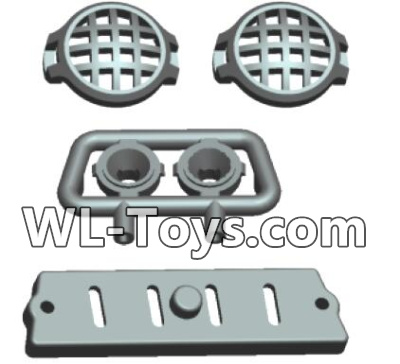 Wltoys 18428 RC Car Parts-Car Head light components-0411,Wltoys 18428 Parts
