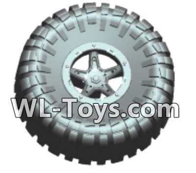 Wltoys 18428 RC Car Parts-Spare tire components(1 set)-0413,Wltoys 18428 Parts
