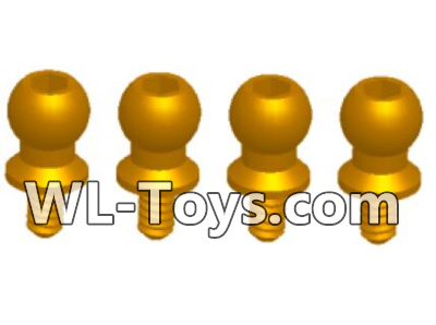 Wltoys 18428 RC Car Parts-Ball-head Screw assembly Parts (4.5X9.2)-4pcs-0438,Wltoys 18428 Parts