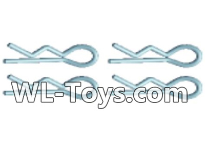 Wltoys 18428 RC Car Parts-Vehicle clip,Car shell fixed Pin Parts(4pcs)-0441,Wltoys 18428 Parts