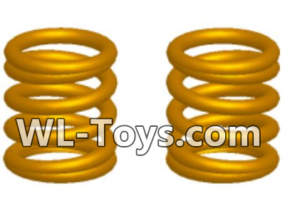 Wltoys 18428 RC Car Parts-Pressure spring-1x7x9x4(2pcs)-0443,Wltoys 18428 Parts