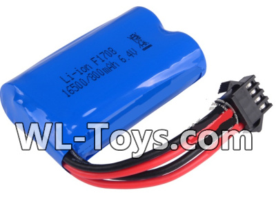 Wltoys 18428 RC Car Parts-Battery Parts-6.4v 700mah Battery Parts(1pcs)-0449,Wltoys 18428 Parts