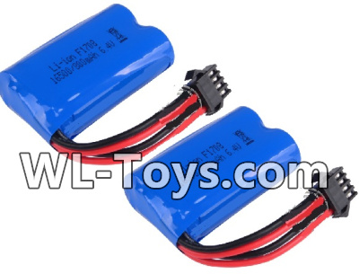 Wltoys 18428 RC Car Parts-Battery-6.4v 700mah Battery Parts(2pcs)-0449,Wltoys 18428 Parts
