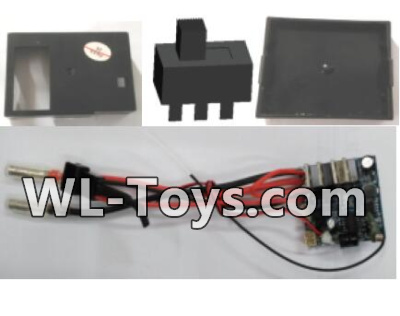 Wltoys 18428 RC Car Parts-Receiver board,Receiving unit Parts-0444Wltoys 18428 Parts