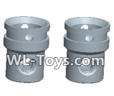 Wltoys 18428 RC Car Parts-Universal shaft cup assembly Parts(2pcs)-0453,Wltoys 18428 Parts