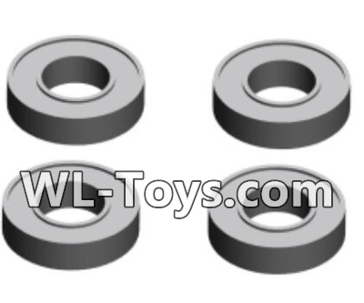 Wltoys 18428 RC Car Parts-Ball Bearing Parts-4X8X2(4pcs)-A202-23,Wltoys 18428 Parts