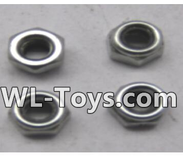 Wltoys 18428 RC Car Parts-M3 lock nut group(4pcs)-A929-95,Wltoys 18428 Parts