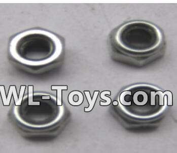 Wltoys 18428 RC Car Parts-M2.5 lock nut group(4pcs)-A929-96,Wltoys 18428 Parts