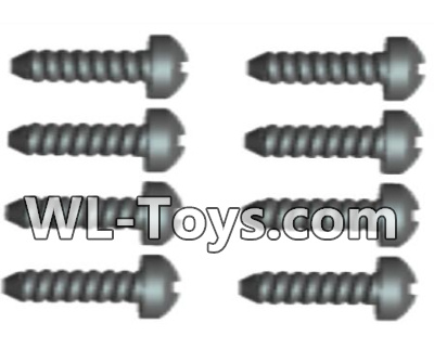 Wltoys 18428 RC Car Parts-Phillips pan head screws Parts-2X12 PM(8pcs)-0111,Wltoys 18428 Parts