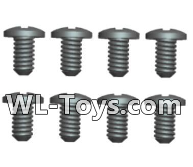 Wltoys 18428 RC Car Parts-Phillips pan head screws Parts-2X5PM(8pcs)-0418,Wltoys 18428 Parts