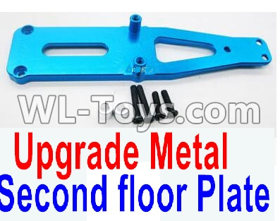 Wltoys 12429 RC Car Upgrade Metal Upper Plate,Second floor Plate-0008,Wltoys 12429 Parts
