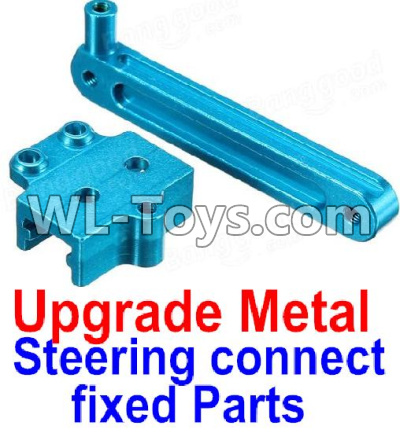 Wltoys 12429 RC Car Upgrade Metal Steering connect fixed Parts-0010,Wltoys 12429 Parts