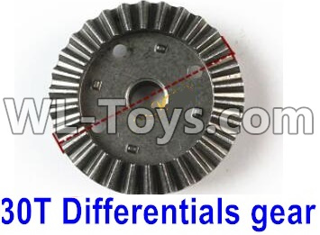 Wltoys 12429 RC Car Parts-30T Differentials Gear Parts(Hardware)-12429.1153,Wltoys 12429 Parts