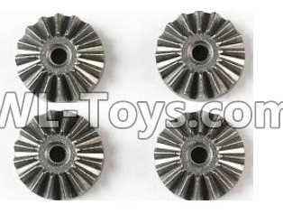 Wltoys 12429 RC Car Parts-Metal 16T Differential large planetary Gear Parts(4pcs)-(Hardware)-12429.1155,Wltoys 12429 Parts