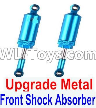 Wltoys 12429 RC Car Upgrade Metal Front Shock Absorber Parts(2pcs)-0016,Wltoys 12429 Parts