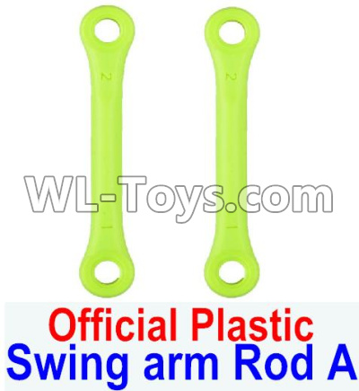 Wltoys 12429 RC Car Parts-Swing arm Rod A,Front shock absorber lever(2pcs)-12429.1171,Wltoys 12429 Parts