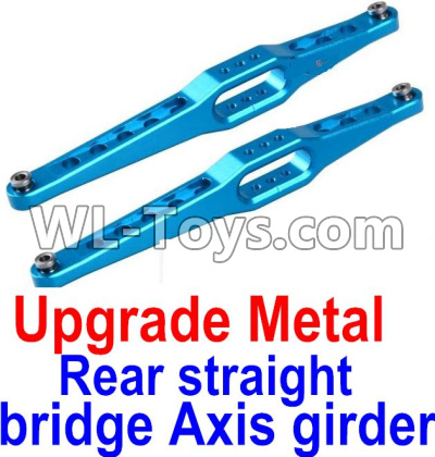 Wltoys 12429 RC Car Upgrade Metal Rear straight bridge Axis girder for the Rear Swing Arm(2pcs)-0023,Wltoys 12429 Parts