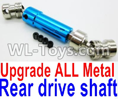 Wltoys 12429 RC Car Upgrade Metal Rear Drive shaft assembly Parts-Blue-0024 -0025,Wltoys 12429 Parts