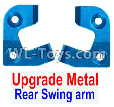 Wltoys 12429 RC Car Upgrade Metal Positioning piece for the Left and Right Rear Swing arm(2pcs)- 0042,Wltoys 12429 Parts