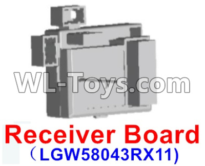 Wltoys 12429 RC Car Parts-Receiver board Parts,Circuit board-12429.1151,Wltoys 12429 Parts