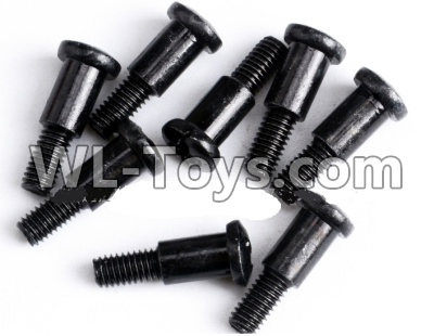 Wltoys 12429 RC Car Parts-Cross step lower half tooth screw(8PCS)-M3X12- 12428.0359,Wltoys 12429 Parts