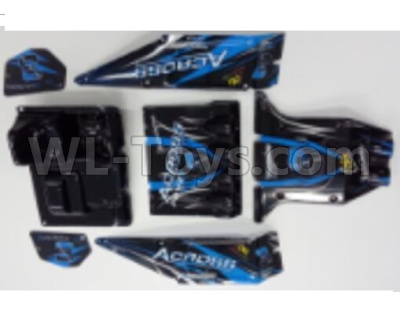 Wltoys 12628 RC Car Parts-Body Shell Cover Parts-Version A-10428-2.0755,Wltoys 12628 Parts