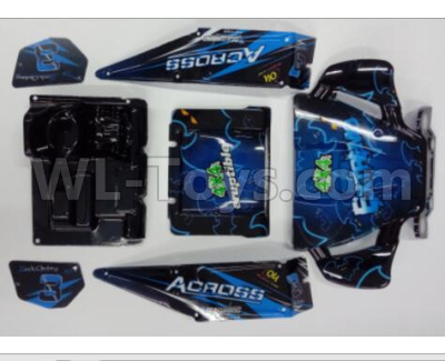 Wltoys 12628 RC Car Parts-Body Shell Cover Parts-Version B-10428-C2.0756,Wltoys 12628 Parts