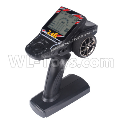 Wltoys 12628 RC Car Parts-V3 Transmitter,Remote control(With Speed Limit function)-12628.0802,Wltoys 12628 Parts