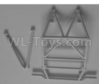 Wltoys 12628 RC Car Parts-The Middle Anti-Roll Bar A,B-K949-104,Wltoys 12628 Parts