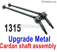 Wltoys 144001 Upgrade Metal Cardan shaft assembly Parts. Total 2 sets. 144001.1315.
