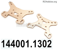 Wltoys 144001 Shock absorber board Parts. Total 2pcs. 144001.1302.